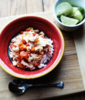Slow Cooker Chicken Posole   Kathy's Kitchen Table