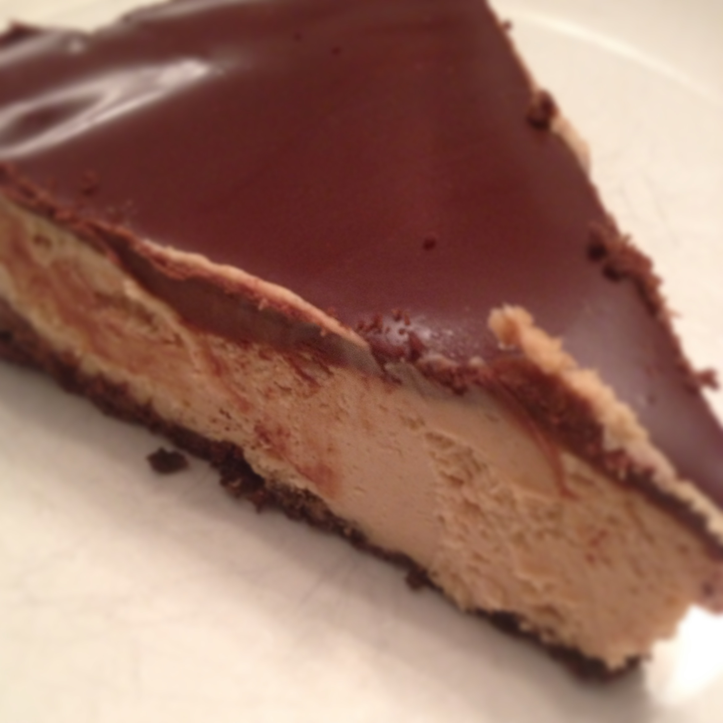 Chocolate Peanut Butter Pie | Kathy's Kitchen Table
