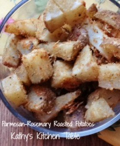 Parmesan-Rosemary Roasted Potatoes