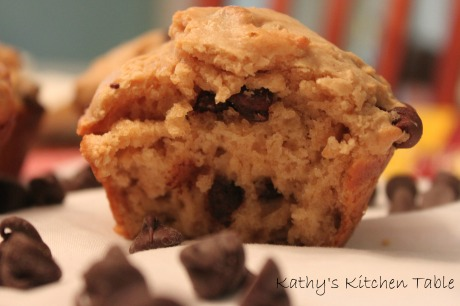 Chocolate Peanut Butter Muffins | Kathy's Kitchen Table